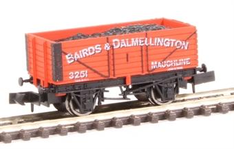 "2F-071-024 7-plank open wagon - ""Bairds and Dalmellington Ltd"" £8"
