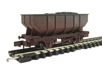 "2F-034-002 21 Ton hopper wagon ""North East"" - weathered"