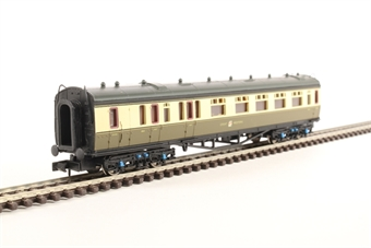 2P-000-281 Collett brake composite 6541 in GWR chocolate and cream with garter crest