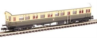 2P-004-009 Collett Autocoach 188 in GWR chocolate and cream with Twin Cities crest £14.50