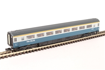 2P-005-026 Mk3 TFO first open W41009 in BR blue and grey with Intercity 125 branding
