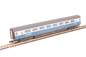 2P-005-040 Mk3 TSO second open W42014 in BR blue and grey with Intercity 125 branding