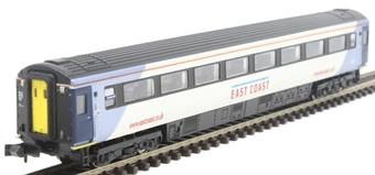 2P-005-830 Mk3 TSO second open 42215 in East Coast silver