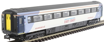 2P-005-831 Mk3 TSO second open 42091 in East Coast silver