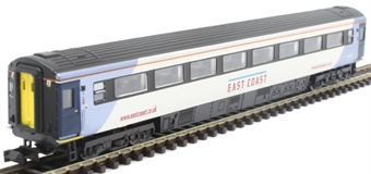 2P-005-832 Mk3 TSO second open 42146 in East Coast silver