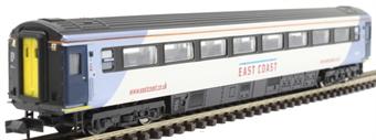 2P-005-833 Mk3 TSO second open 42150 in East Coast silver