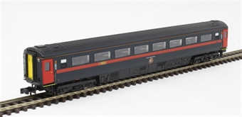 2P-005-932 Mk3 TSO second open 42063 in GNER blue