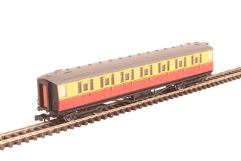 2P-011-152 ex-LNER Gresley teak first class E11019E in BR carmine and cream