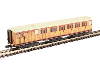 2P-011-207 LNER Gresley teak brake 5534 in LNER teak livery
