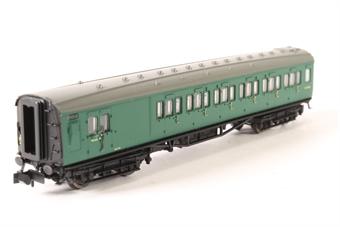 2P-012-351 Maunsell Coach BR Brake 3rd Class SR Green 4048