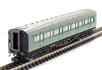 2P-012-451 Maunsell Coach BR Composite Class SR Green 5137
