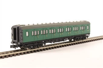 2P-012-454 Maunsell composite corridor S5149S in BR southern region green