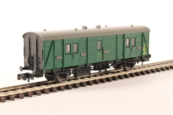 2P-012-503 Maunsell brake van S750S in BR southern region green
