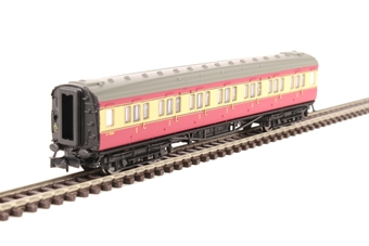 2P-012-600 Maunsell first class corridor S7669S in BR crimson and cream
