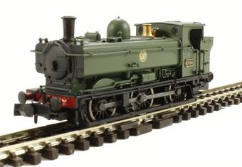 2S-007-010 Class 57xx Pannier 0-6-0 8700 in GWR green with shirtbutton emblem