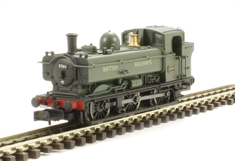 2S-007-013 Class 57xx Pannier 0-6-0 9744 in British Railways green