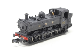 2S-007-015D-PO Class 57xx Pannier 0-6-0PT 9791 in GWR black with later cab - DCC Fitted - Pre-owned - Noisy runner,imperfect box