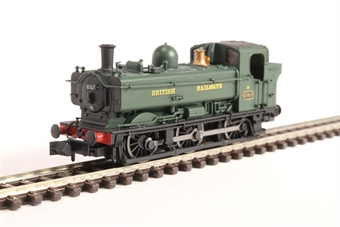 2S-007-016D Class 57xx Pannier 0-6-0PT 8767 in BR green with British Railways lettering & later cab - DCC Fitted