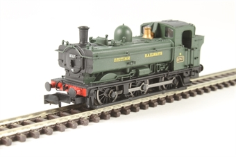 2S-007-016 Class 57xx Pannier 0-6-0PT 8767 in BR green with British Railways lettering & later cab £72