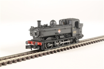 2S-007-017 Class 57xx Pannier 0-6-0PT 6760 in BR black with early emblem and later cab