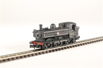 2S-007-018 Class 57xx Pannier 0-6-0PT 8763 in BR lined black with early emblem and later cab