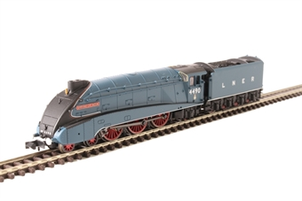 "2S-008-009 Class A4 4-6-2 4490 ""Empire of India"" in LNER garter blue with valances"