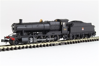 2S-009-006 Class 3800 2-8-0 3846 in BR black with early emblem