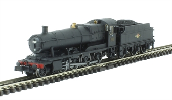 2S-009-007D Class 2884 2-8-0 3822 in BR black with late crest - DCC Fitted