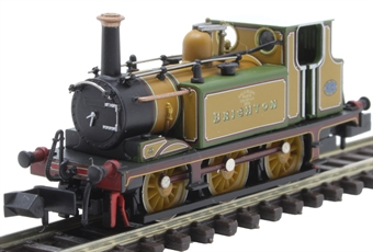 "2S-012-009 Class A1X 'Terrier' 0-6-0T 40 ""Brighton"" in LB&SCR improved engine green"
