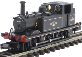 2S-012-010 Class A1X 'Terrier' 0-6-0T 32636 in BR black with late crest