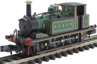 2S-012-011 Class A1X 'Terrier' 0-6-0T 751 in South Eastern and Chatham Railway green
