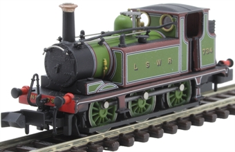 2S-012-012 Class A1X 'Terrier' 0-6-0T 734 in London and South Western Railway green