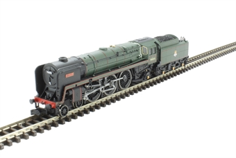 """2S-017-003 Class 7MT Britannia 4-6-2 70015 """"Apollo"""" in BR green with early emblem"""