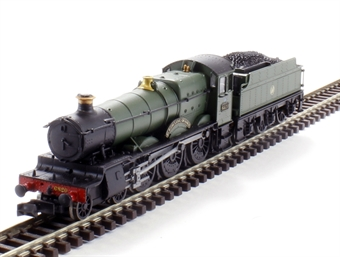 "2S-019-001D Class 6800 4-6-0 6820 ""Kingstone Grange"" in GWR green with shirtbutton emblem. DCC Fitted"