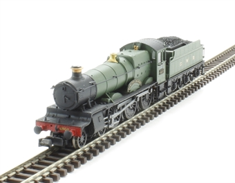 """2S-019-002 Class 6800 4-6-0 6802 """"Bampton Grange"""" in GWR green with 'G & W' lettering"""