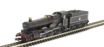 """2S-019-003D Class 6800 4-6-0 6809 """"Burchlere Grange"""" in BR lined black with early emblem. DCC Fitted"""