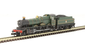"""2S-019-005D Class 6800 4-6-0 6837 """"Forthampton Grange"""" in BR lined green with early emblem. DCC Fitted"""