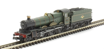 "2S-019-006D Class 6800 4-6-0 6803 ""Bucklebury Grange"" in BR lined green with late crest. DCC Fitted"