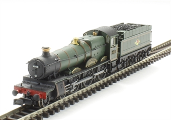 "2S-019-006 Class 68xx 4-6-0 6803 ""Bucklebury Grange"" in BR lined green with late crest"