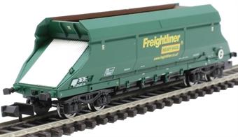2f-026-005 HIA aggregate limestone hopper 369002 in Freightliner green livery
