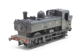 30-010loco-PO01 Class 8750 0-6-0 Pannier Tank 3705 in GWR Green (split from set) - Pre-owned - weathered - missing front coupling - replacement box