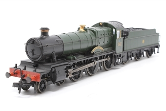 """30-021Loco-PO02 Class 78xx 4-6-0 Manor 7811 """"Dunley Manor"""" in GWR green with shirtbutton logo - Pre-owned - Poor runner, replacement box"""