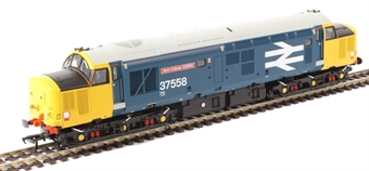"""30-375 Avro Vulcan Collector's Pack - Class 37/4 37558 """"Avro Vulcan XH558"""" in BR large logo blue and pair of N scale Avro Vulcans"""