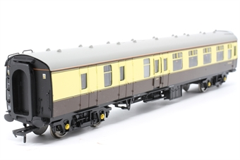 30-525BSK-PO03 Mk1 BSK brake second corridor W35470 in BR chocolate and cream - split from 30-525 set - Pre-owned - detailed with added lamp at one end - replacement box