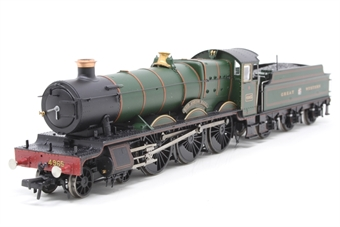 "30-525loco-PO01 Class 49xx 'Hall' 4-6-0 4965 ""Rood Ashton Hall"" in Great Western green - split from 30-525 set - Open box, Boiler railing slightly loose"