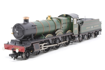 "30-525loco-PO02 Class 49xx 'Hall' 4-6-0 4965 ""Rood Ashton Hall"" in Great Western green - split from 30-525 set - Pre-owned - replacement box"