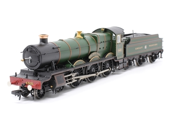 """30-525loco-PO04 Class 49xx 'Hall' 4-6-0 4965 """"Rood Ashton Hall"""" in Great Western green - split from 30-525 set - Pre-owned - replacement box"""