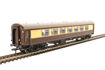 30-525parlour Mk1 Pullman parlour car 99353 in Pullman umber and cream - split from 30-525 set