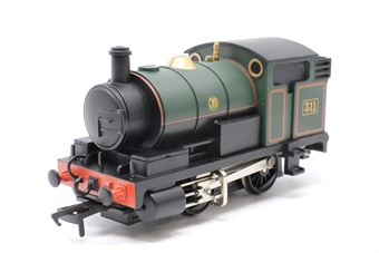 30-905-PO02 Junior 0-4-0T in GWR green livery - Pre-owned - Like new - imperfect box