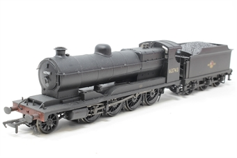 31-001Z-PO03 Class O4 2-8-0 Robinson ROD 63743 in BR black with late crest - weathered - Exclusive to Hatton's - Pre-owned - Like new